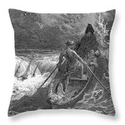 Coleridge: Ancient Mariner Throw Pillow