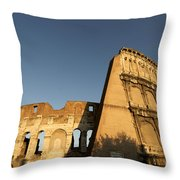 Coliseum. Rome Throw Pillow