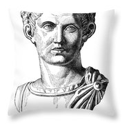 Constantine I (d. 337) Throw Pillow
