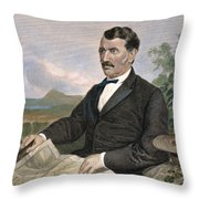 David Livingstone Throw Pillow
