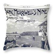 Dime Novel, 1897 Throw Pillow