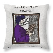 Euclid, Ancient Greek Mathematician Throw Pillow