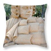 Fairytale Sand Sculpture  Throw Pillow