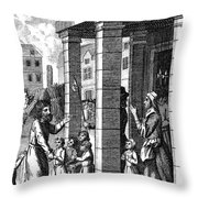 Foxe: Book Of Martyrs Throw Pillow