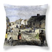 Freedmens Village, 1866 Throw Pillow by Granger