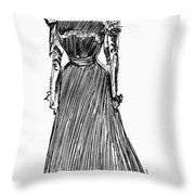 Gibson Girl, 1899 Throw Pillow