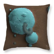 Gunshot Residue Throw Pillow