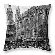 Gustavus II (1594-1632) Throw Pillow
