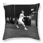 Helen Newington Wills Throw Pillow