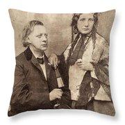 Henry Ward Beecher Throw Pillow