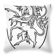 Heraldry Throw Pillow