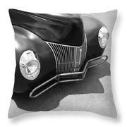 Hot Rod Front Throw Pillow