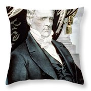 James Buchanan, 15th American President Throw Pillow
