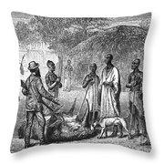 John H. Speke (1827-1864) Throw Pillow