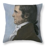 John Marshall (1755-1835) Throw Pillow