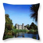 Johnstown Castle, Co Wexford, Ireland Throw Pillow