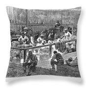 Kansas: Black Exodus, 1879 Throw Pillow