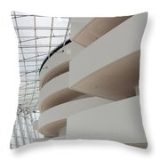 Kauffman Center For Performing Arts Throw Pillow by Mike McGlothlen
