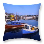 Kinsale, Co Cork, Ireland Throw Pillow