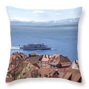 Lake Constance Meersburg Throw Pillow by Joana Kruse