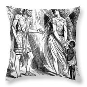Lincoln Cartoon, 1862 Throw Pillow