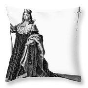 Louis Xv (1710-1774) Throw Pillow