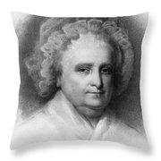 Martha Washington, American Patriot Throw Pillow
