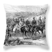 Mohammed Yakub Khan Throw Pillow