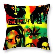 4 One Love Throw Pillow