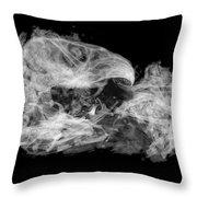 Owl Pellet Throw Pillow