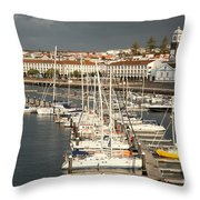 Ponta Delgada Throw Pillow