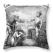 Presidential Campaign, 1864 Throw Pillow