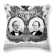 Presidential Campaign, 1876 Throw Pillow