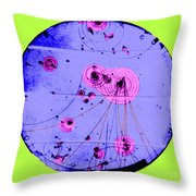 Proton-photon Collision Throw Pillow