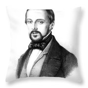 Rudolph Virchow, German Polymath Throw Pillow