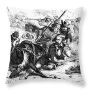 Sam Houston (1793-1863) Throw Pillow