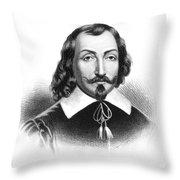 Samuel De Champlain Throw Pillow