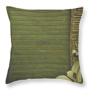 Scooter Throw Pillow by Joana Kruse