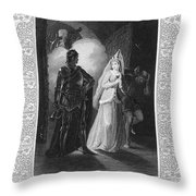 Shakespeare: Henry Vi Throw Pillow