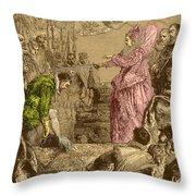 Sir Francis Drake, English Explorer Throw Pillow