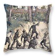 Spanish-american War, 1898 Throw Pillow