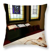 St James Cathedral Throw Pillow