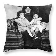 Titanic: Survivors, 1912 Throw Pillow