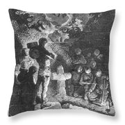 Verne: 20,000 Leagues Throw Pillow