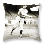 Walter Perry Johnson Throw Pillow