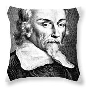 William Harvey, English Physician Throw Pillow