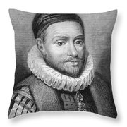 William I (1533-1584) Throw Pillow