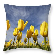 Woodburn, Oregon, United States Of Throw Pillow