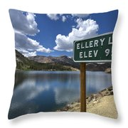 Yosemite Throw Pillow