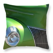 40 Ford - Front Pass Angle-8651 Throw Pillow